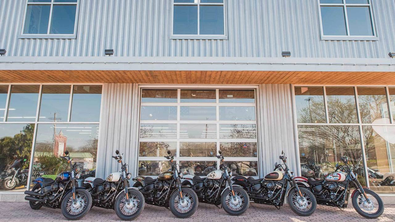 Six Sailor Jerry-inked H-D Softails up for Grabs