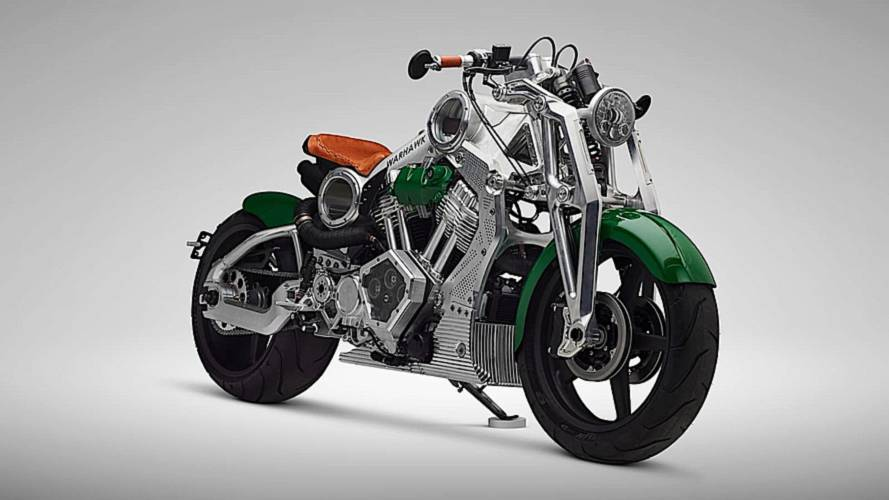 Curtiss Motorcycles' Last Gas Bike is Wicked