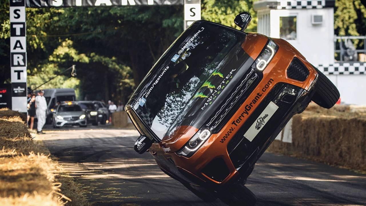 Range Rover Velar a Goodwood 2018