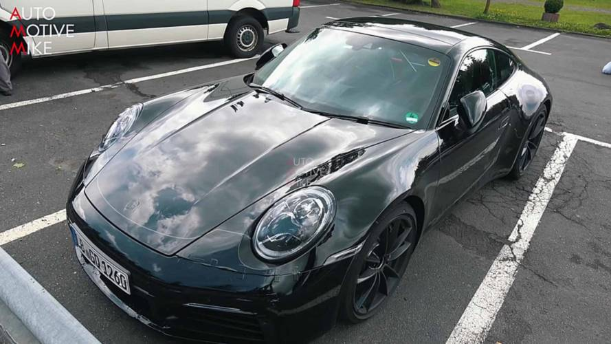 Next Porsche 911 spied up close and personal