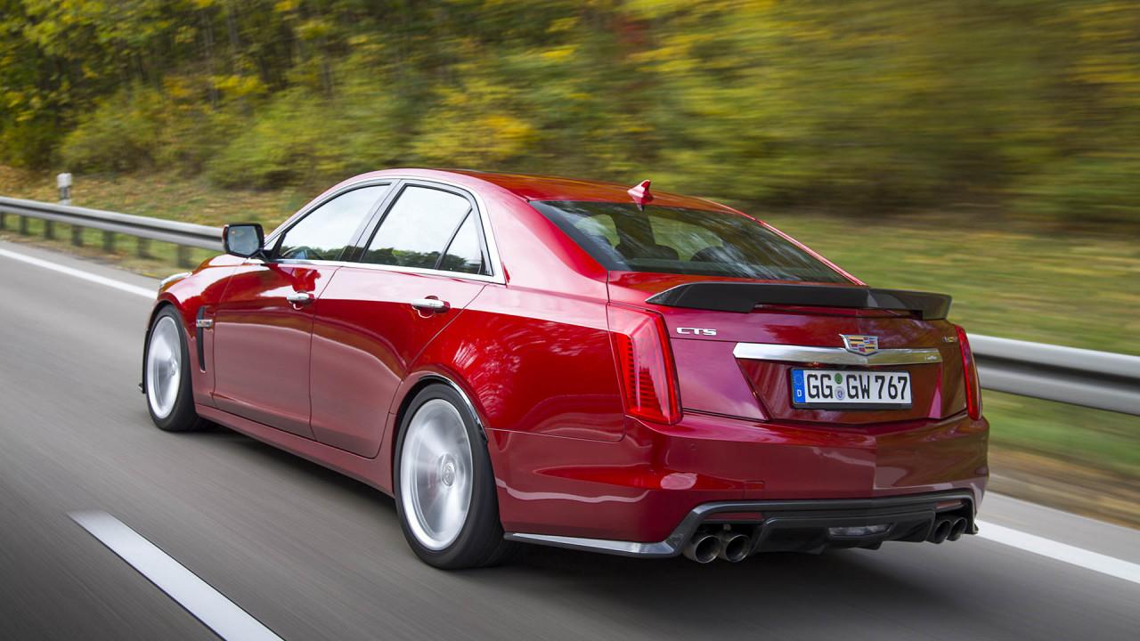Platz 3: Cadillac CTS-V; Leistung: 649 PS