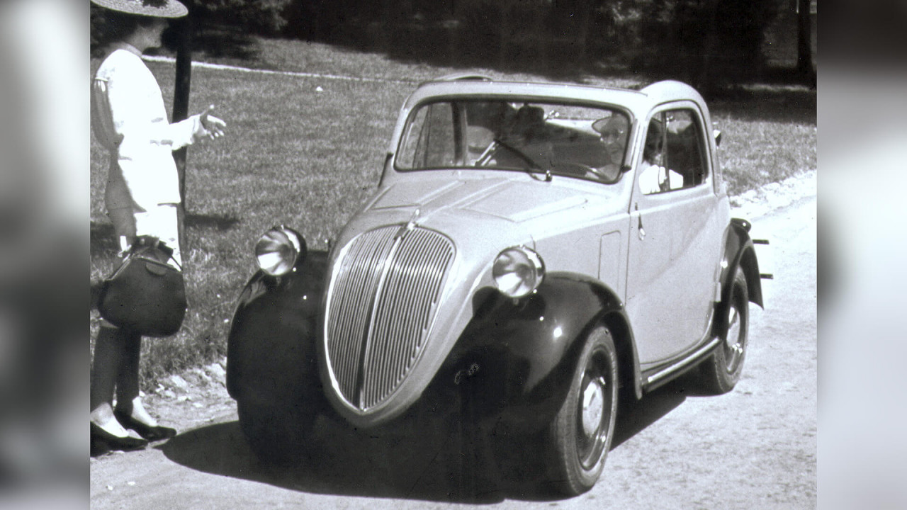 """Fiat 500 A: """"Topolino/Mäuschen"""""""