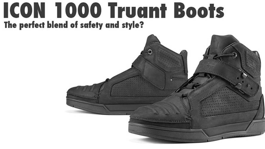 Gear: ICON 1000 Truant Boots – Sneaker-Style Safety