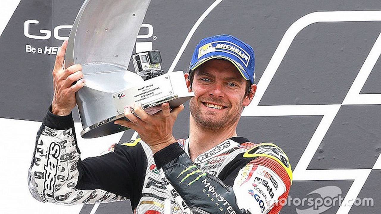 Crutchlow 'Didn't Care' About Crash in Closing Stages