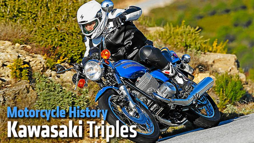 Motorcycle History: Kawasaki Triples