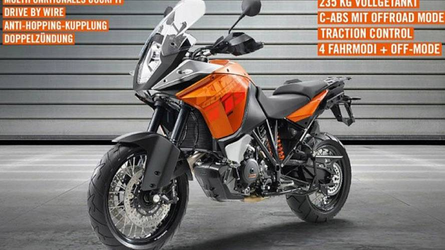 KTM 1190 Adventure leaks with 148 HP