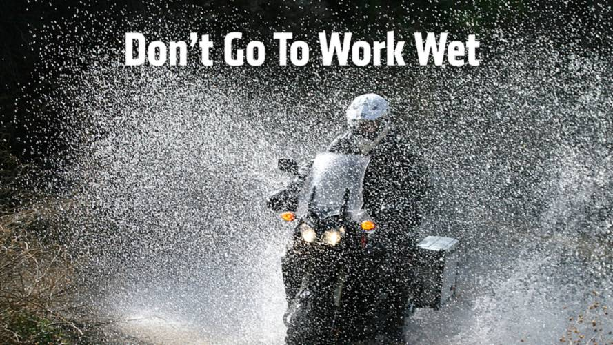 Top Motorcycle Rain Suits For Commuters - Don't Go To Work Wet