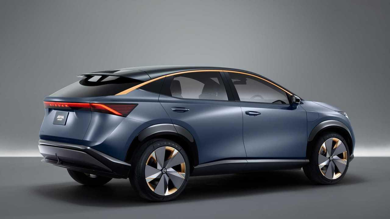 Il concetto di Nissan Ariya
