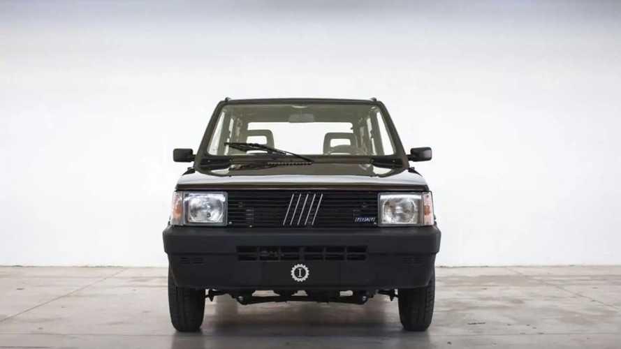 Fiat Panda 4x4 electric
