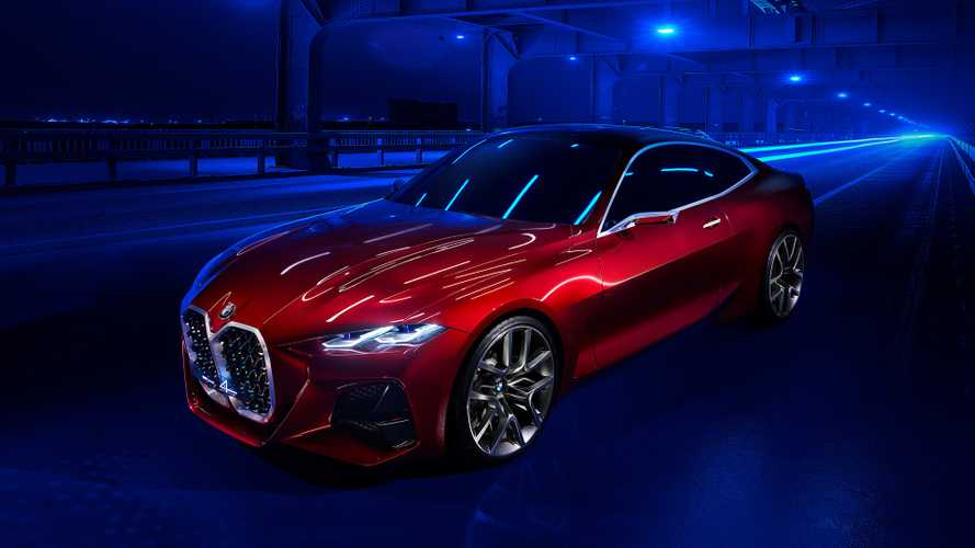 BMW Concept 4 llega a Fráncfort con una enorme parrilla doble