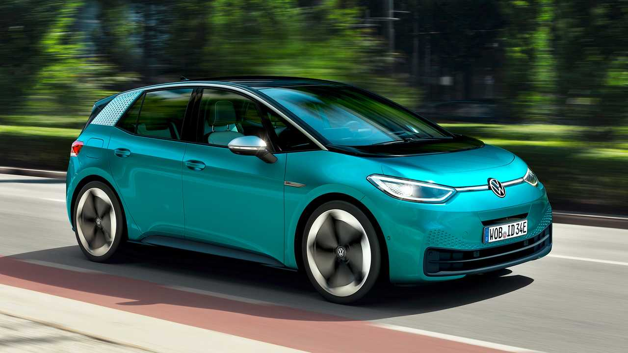 VW ID.3 Electric Car Debuts With Range Of Up To 342 Miles