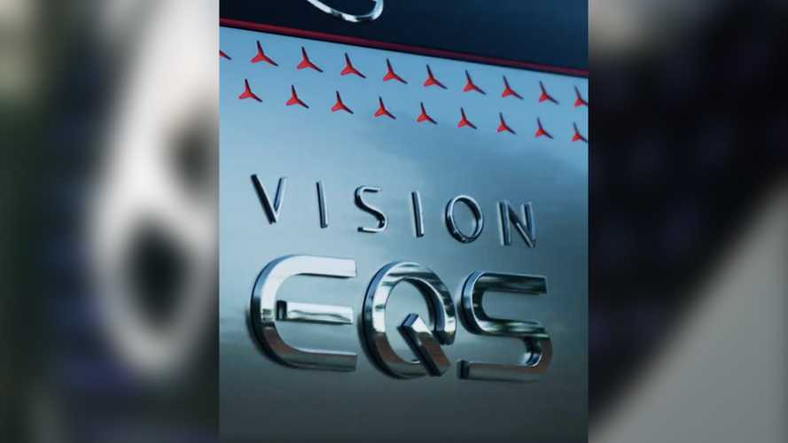 Mercedes-Benz Confirms Vision EQS Moniker In New Teaser Video
