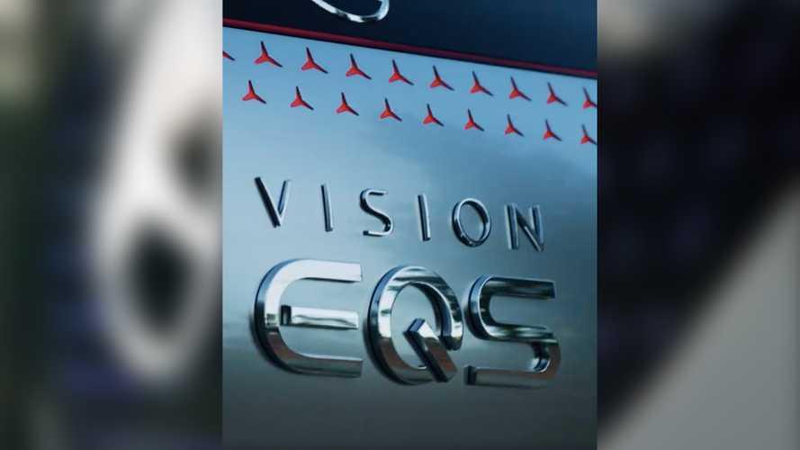 Mercedes-Benz, EQS adlı konseptinin bir ipucu videosunu yayınladı