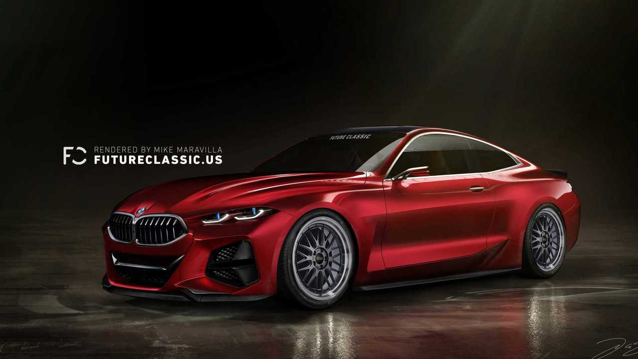 BMW Concept 4 with smaller grille