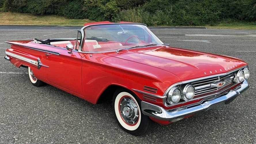 Drop The Top In This Stunning 1960 Chevy Impala 'Vert