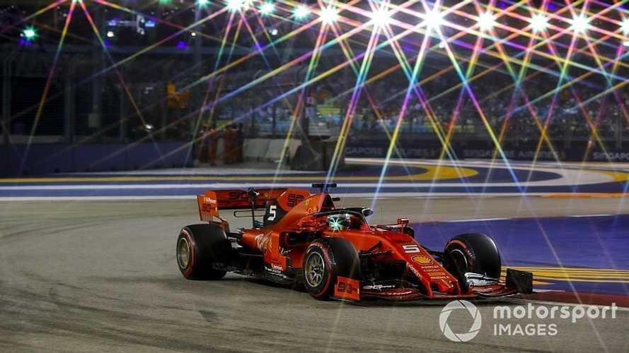F1: Vettel vence em Singapura e encerra jejum de 22 corridas