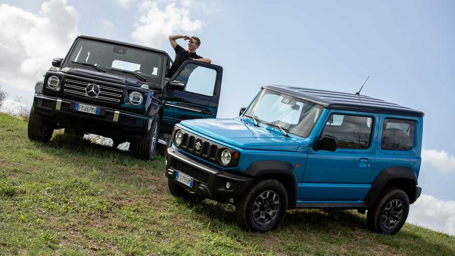 Suzuki Jimny battles Mercedes-Benz G-Class in epic off-road comparo