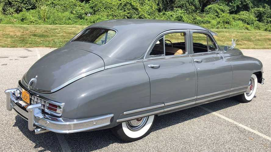 Relive The Glory Days Of Motoring In This 1949 Packard Custom Eight