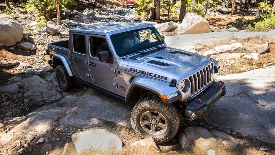 Jeep Gladiator Rubicon 2020 - Rubicon Trail