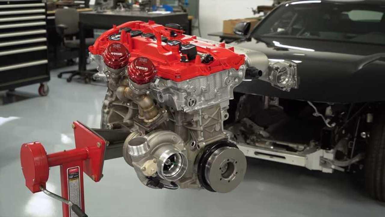 Toyota Supra motorépítés