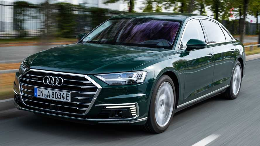 Audi A8 Plug-In Hybrid Is Literally And Figuratively Green