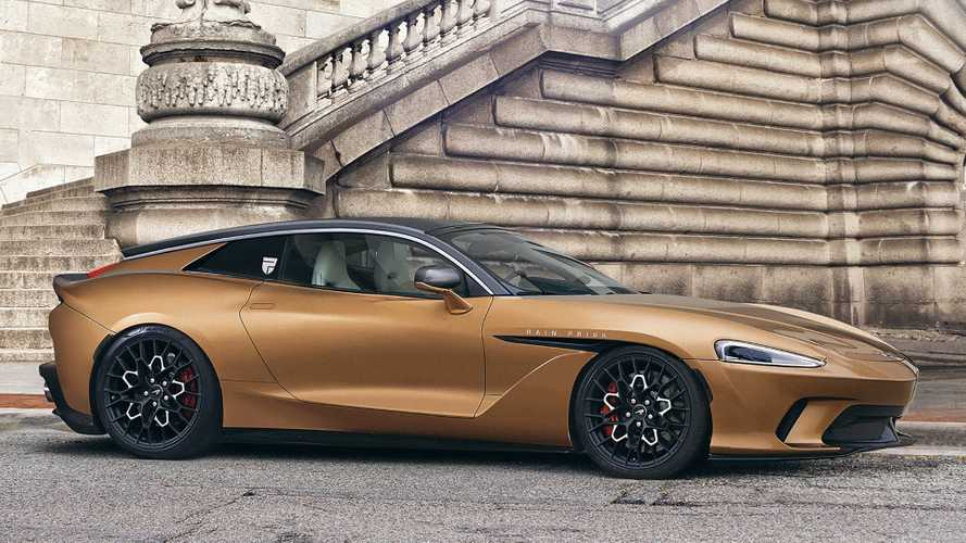 McLaren GT reimagined as front-engine shooting brake with Zagato cues