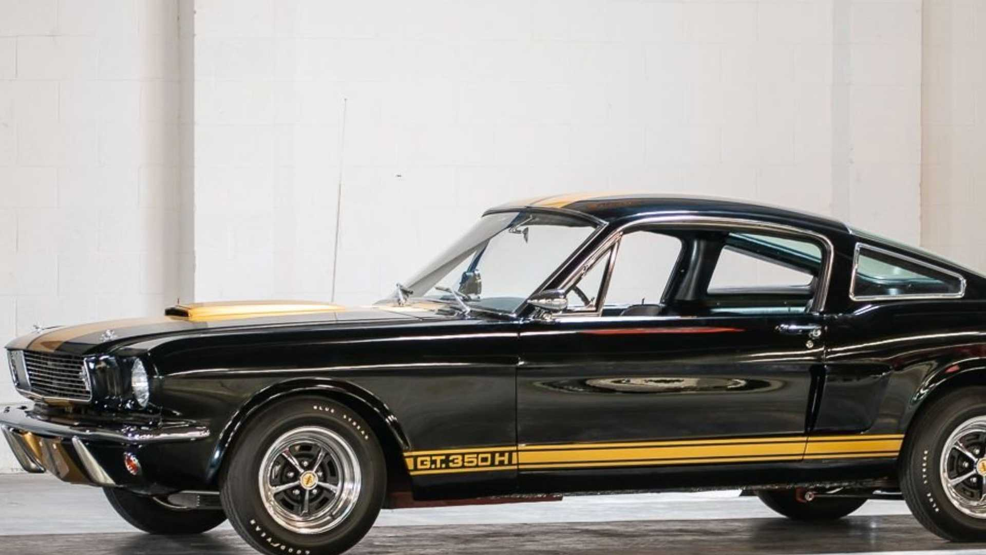 """[""""This Restored 1966 Ford Mustang Shelby GT350H Can Be Yours""""]"""