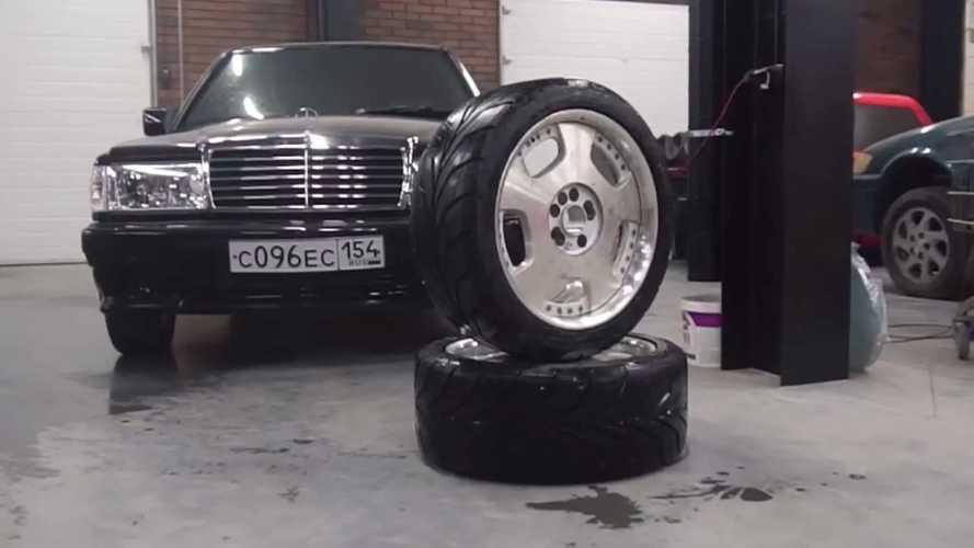 Прозрачные колеса
