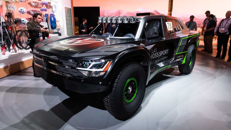 VW unveils Atlas Cross Sport R that will compete in Baja 1000