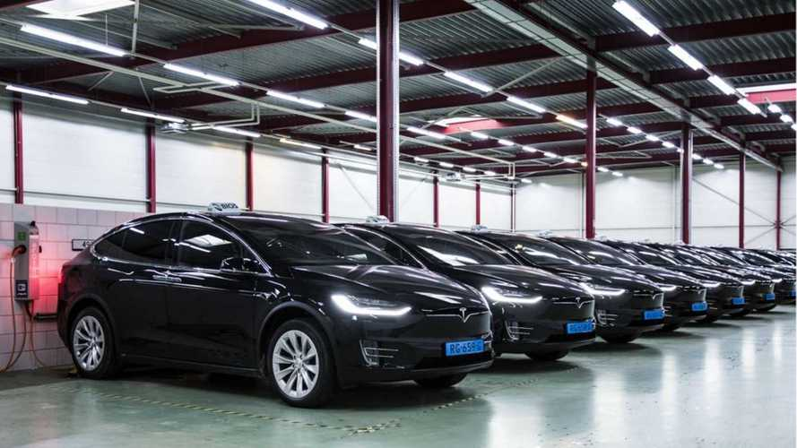 Schiphol Taxi Drivers Sue Tesla For Model S Problems In Amsterdam
