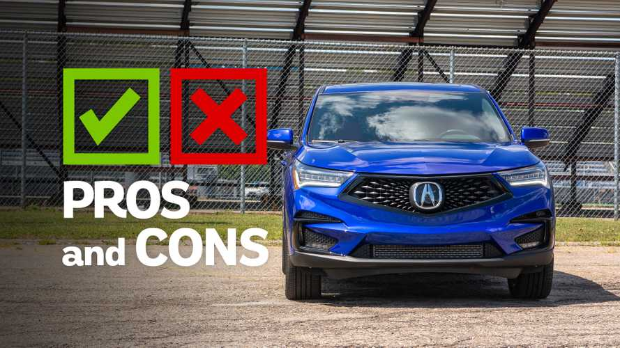 2020 Acura RDX: Pros And Cons