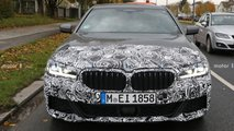 BMW 5 Series M Sport facelift spy photos