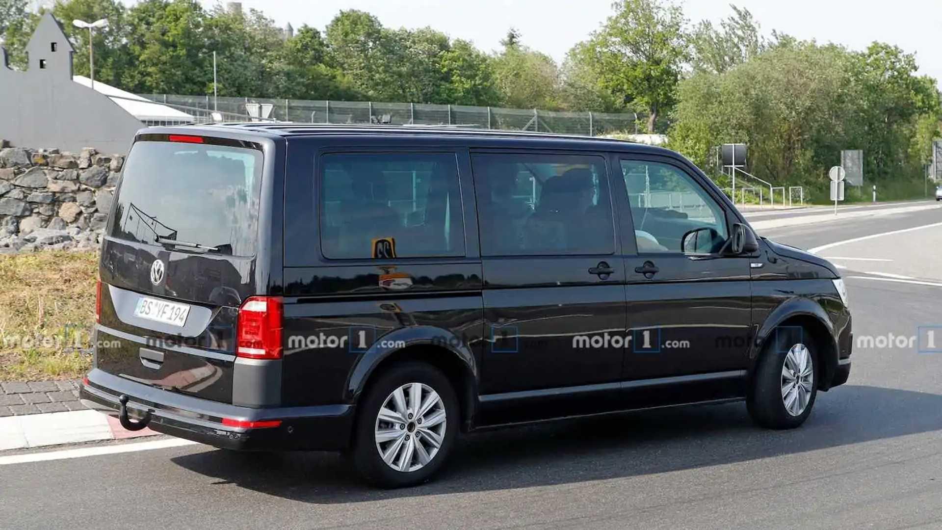 2021 - [Volkswagen] Transporter [T7] Volkswagen-transporter-t7-latest-test-mule