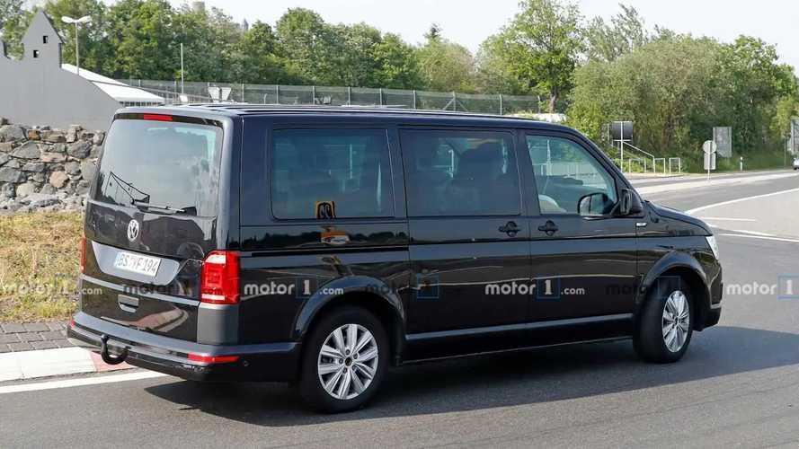 Volkswagen Transporter T7 als Test Mule erwischt
