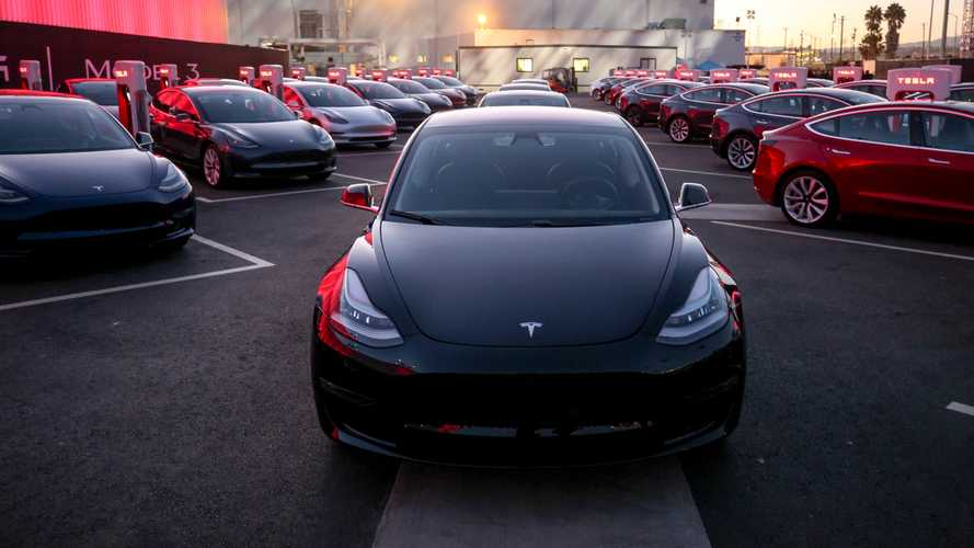 Evento de entrega do Tesla Model 3
