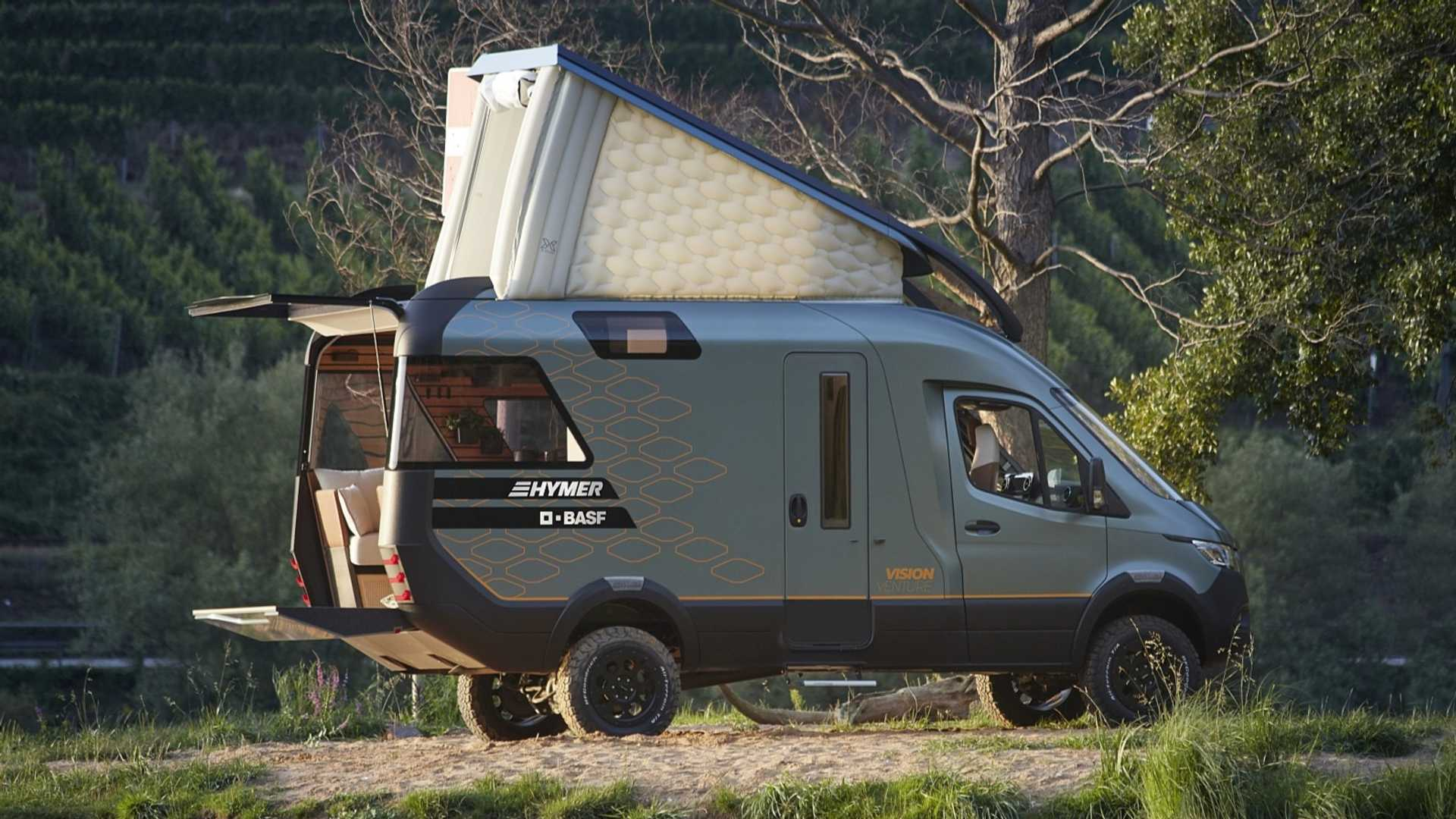 Hymer VisionVenture Concept Predicts The Future Of Camper Vans