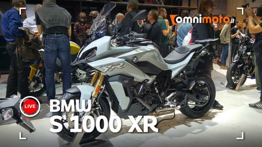 BMW S 1000 XR: potente, più leggera, elttronica al top