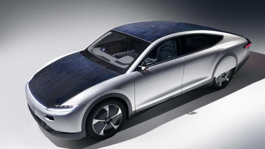 Lightyear One, l'auto elettrica con i pannelli solari