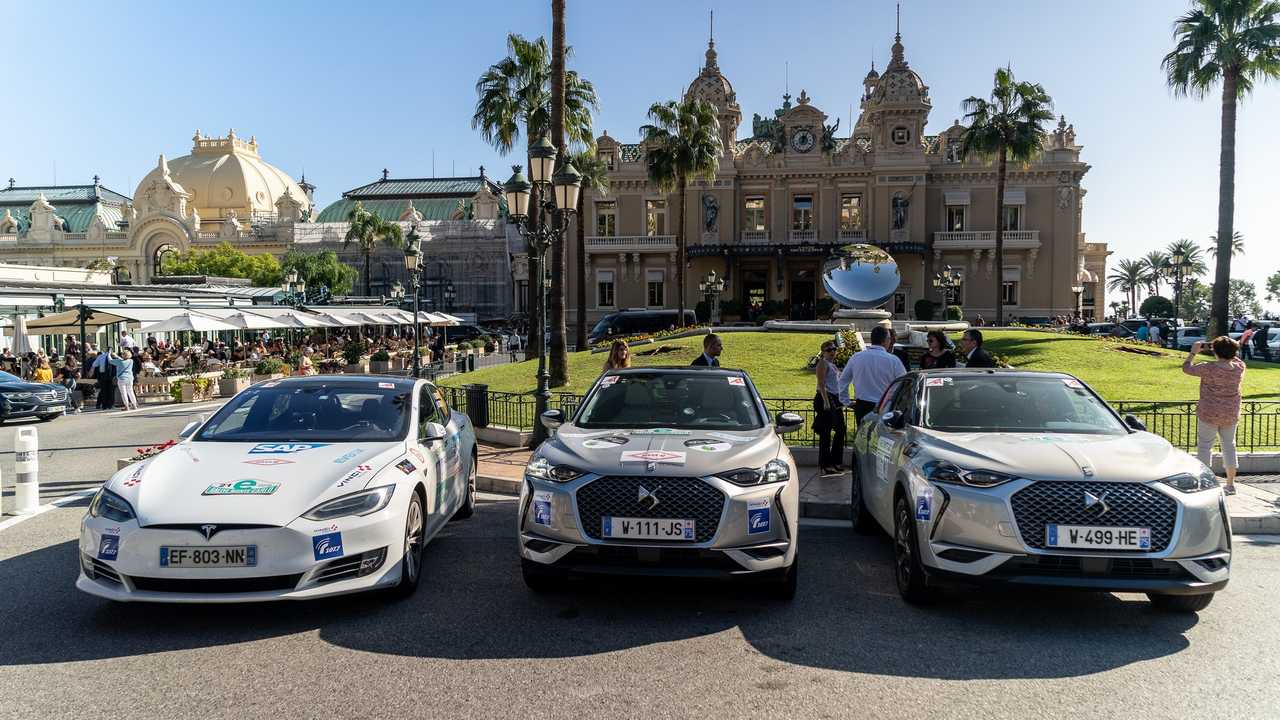 DS 3 Crossback e-Tense - E-Rallye Monte-Carlo