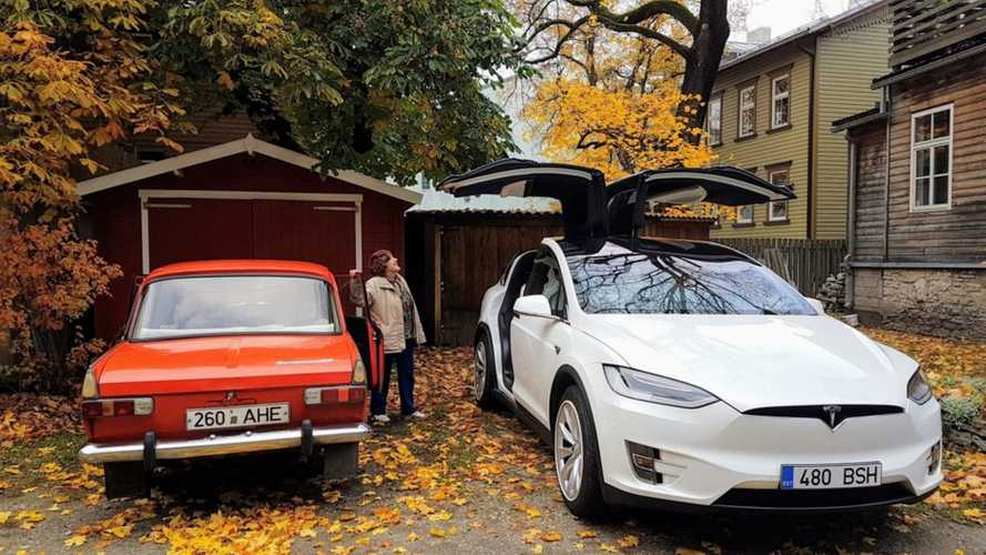 Do You Have Any Info On This 92-Year-Old Lady That Drove A Tesla Model X?