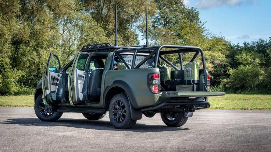 Ford Ranger militarizado