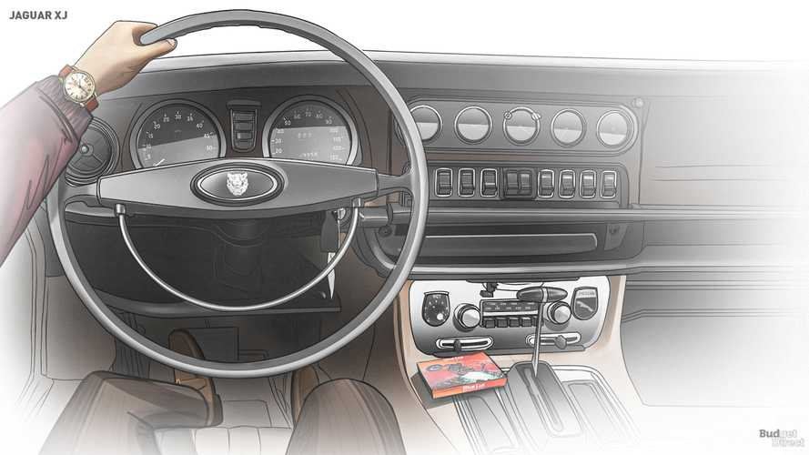 Jaguar XJ Interior Evolution