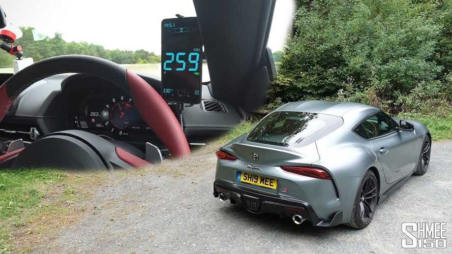 2020 Toyota Supra heads to the Autobahn for top speed test