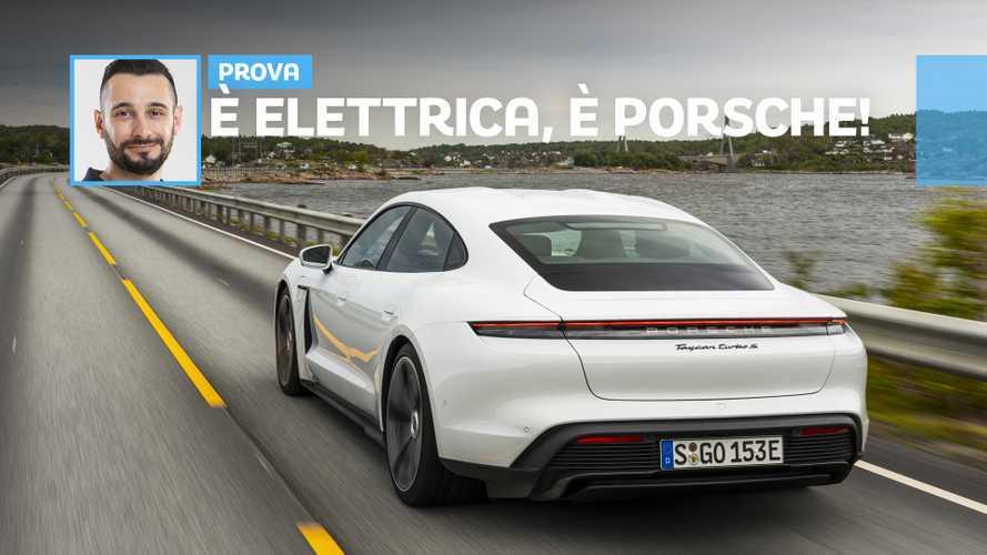 Taycan, come si viaggia con l'elettrica di Porsche
