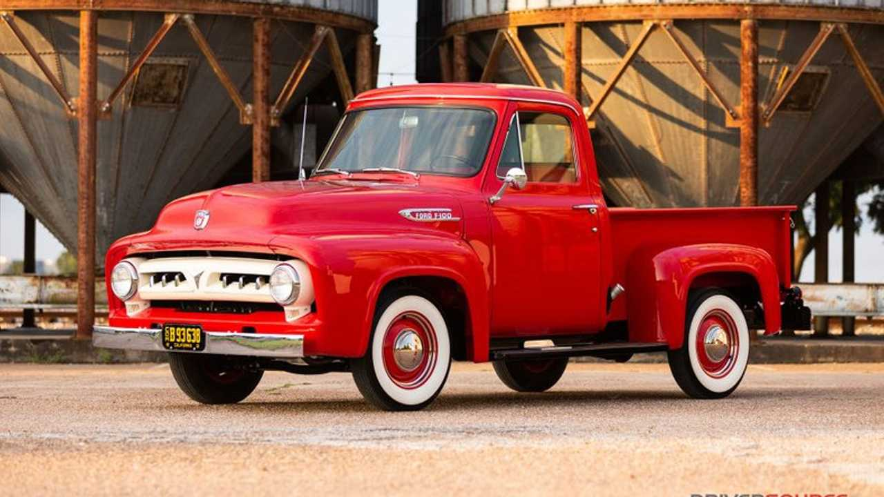 Meticulously Restored1953 Ford F100 Up For Grabs