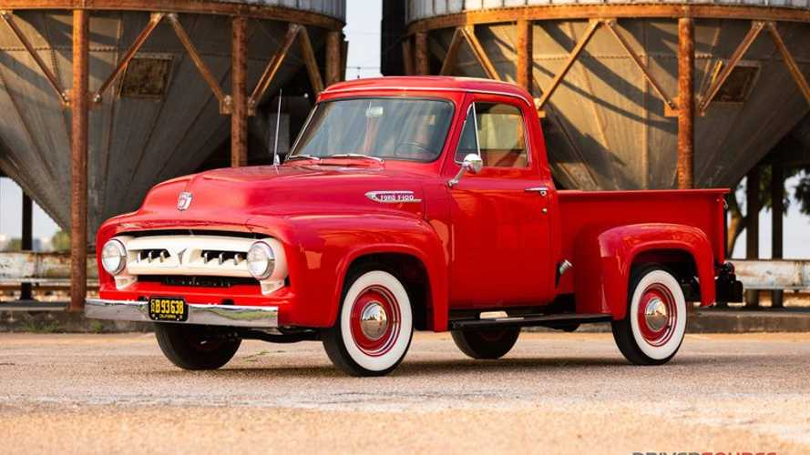 Meticulously Restored 1953 Ford F100 Up For Grabs