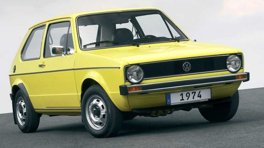 Volkswagen Golf, le foto storiche