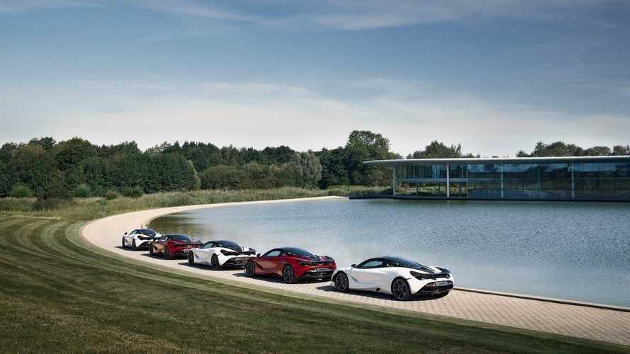 A McLaren a 720S Coupe MSO Apex Collectionnel tiszteleg Európa legjobb versenypályái előtt