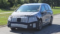 2021 Honda Odyssey Spy Photos
