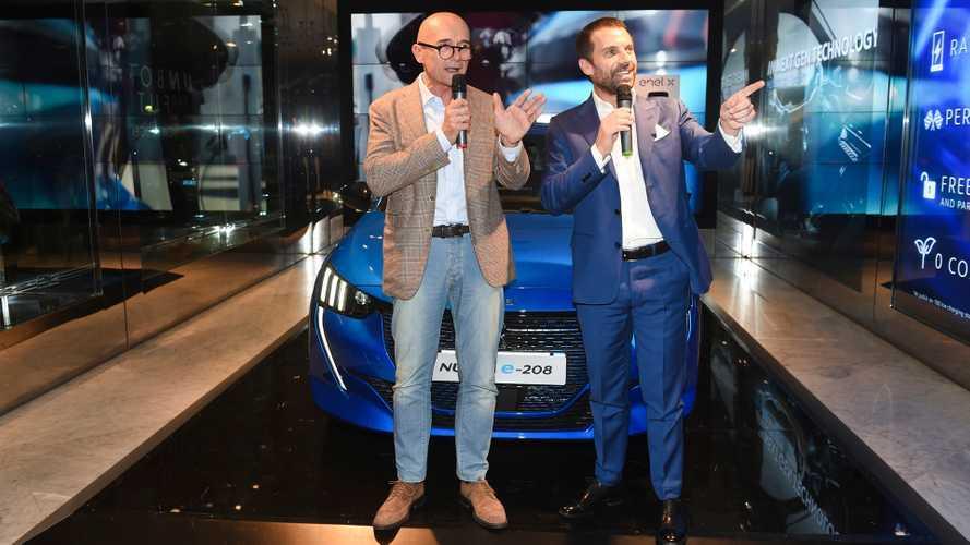 Peugeot e-208 ai casting per il Grande Fratello VIP